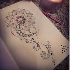 Female Thigh Tattoo Ideas Pretty Hip Thigh Tattoo When I Pinterest Hip Thigh