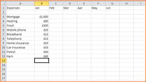 Monthly Bills Spreadsheet 5 Money Budget Spreadsheet Excel Spreadsheets Group