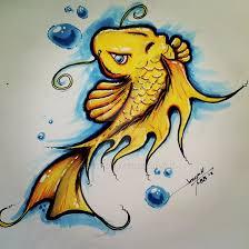 koi fish drawing color roadrunnersae
