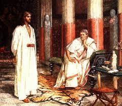 imagenes de jesus ante pilato la vida y las enseñanzas de jesús de nazaret el juicio ante pilato
