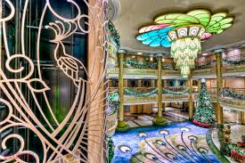 it u0027s all in the details the atrium lobby of the disney fantasy