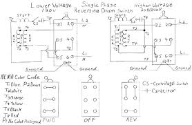 im trying to wire a dayton 2x440a drum switch foward and reverse