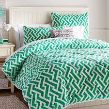 geometric pattern bedding trendy modern bedding possibilities for fall