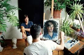 painted portraits are the new selfie cost 15 000 bloomberg