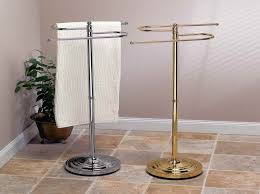 Floor Towel Racks For Bathrooms by Practical Free Standing Towel Rack U2014 Modern Home Interiors