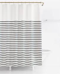 new kate spade harbour stripe black white shower curtain 72 x 72 kate spade new york harbour stripe shower curtain shower curtains accessories bed bath macy s