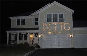 ditto when you can u0027t compete with your neighbour u0027s christmas