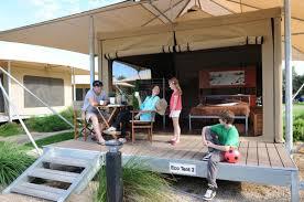 eco tents big4 adelaide shores caravan park sa