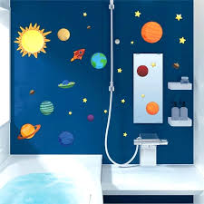 Solar System For Kids Bedroom Solar System Wall Stickers For Kids