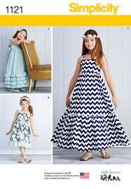simplicity 1121 child u0027s and girls u0027 pullover dresses