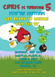 birthday invites stunning angry birds birthday invitations design