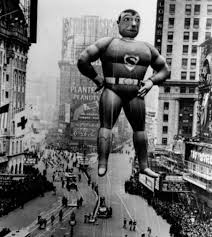 amusing vintage photographs of thanksgiving day parade balloons