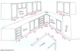 image of standard kitchen sink sizes plan