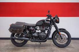 new 2016 triumph bonneville t120 black motorcycles in brea ca