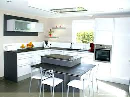 fabriquer ilot central cuisine ilot de cuisine avec coin repas ilot cuisine avec table ikea