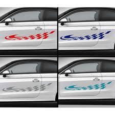 Custom Car Flag Checker Flag Car Stickers Custom Vinyl Side Stripe Graphic Decals