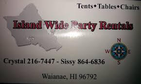 party rentals island island wide party rentals home