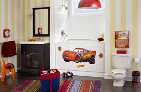 Disney Bathroom Ideas by Disney Cars Wall Decor Shenra Com
