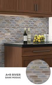 kitchen backsplash at lowes tile lowes mosaics glassmosaics backsplash hi010brbl1214