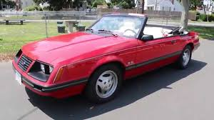 1983 ford mustang glx 5 0 convertible for sale 5 speed beautiful