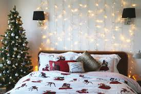 Hanging Christmas Lights In Bedroom by Bedroom Twinkle Lights Best Way To Hang Christmas Lights On Wall