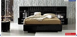 2 6 Bed Frame by Modern Bedroom Moon 2 Bed Black Composition 6