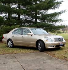 lexus gold 2004 metallic gold lexus ls430 luxury sedan ebth