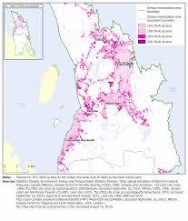 St John Map Map 3 27 Built Up Area St John U0027s Census Metropolitan Area Cma