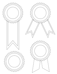 printable ribbon blank award ribbons tim s printables
