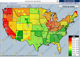 map us gas prices file gas price temperature map png wikimedia commons