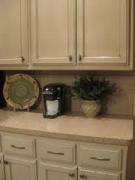 cream colored kitchen cabinets with brown glaze kitchen decoration