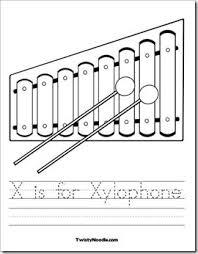 11 best letter x worksheets images on pinterest alphabet