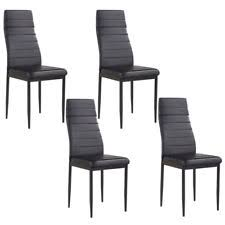 Black Dining Chairs Modern Metal Dining Chairs Ebay