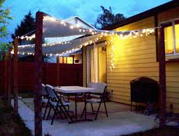 Outdoor String Patio Lights by Backyard String Lights Ideas Home Ideas