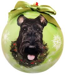 scottish terrier tree ornaments for fans