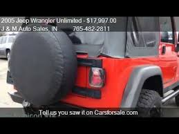 2005 jeep wrangler unlimited rubicon for sale 2005 jeep wrangler unlimited rubicon for sale in lebanon in