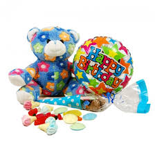 teddy in a balloon gift happy birthday gifts birthday balloon gift