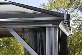Pergola Mosquito Net by Gazebo New Way To Extend Your Living Space With 10 X10 Hardtop