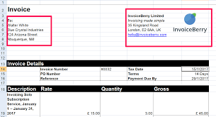 Make Your Own Invoice Template What Is An Invoice And How Can I Make One Invoiceberry Blog