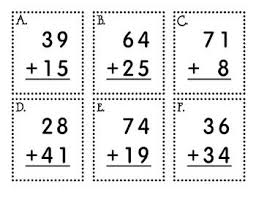 44 best 2 digit adding images on pinterest math worksheets