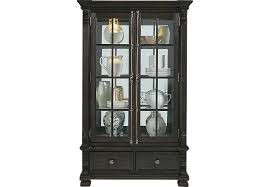 cabinet for pc san luis oak 2 pc china cabinet china cabinets dark wood