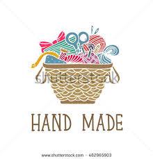 arts crafts sewing hand drawn supplies stock vector 541022485