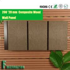 china long lasting composite decking plastic wood wall panel wpc