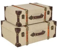 koffer design 2er set kisten boxen koffer design aufbewahrung kunstleder