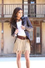 union of angels guiliana fringe skirt tan gorgeous u0026