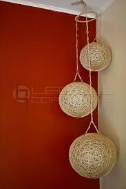 corner ceiling light fixtures hanging corner ceiling abaca balls leoque collection one look