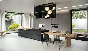 cuisine design lyon aménagement cuisine blanche et bois 35 idées cool armoires