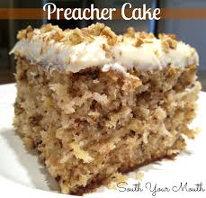 south your mouth preacher cake