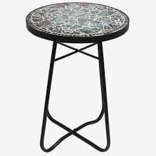 small outdoor accent tables small outdoor accent tables contemporary outdoor side table mosaic