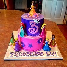 Cheap Cakes Disney Princess Birthday Cakes 3 Cake Birthday